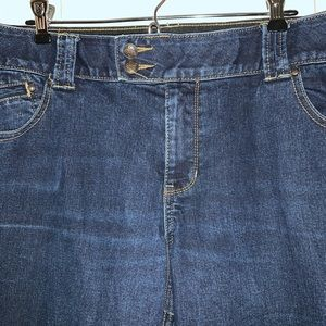 Lane Bryant Jeans - Lane Bryant Stretch Denim Capris  Sz 18